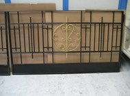 Corrosion protected gate